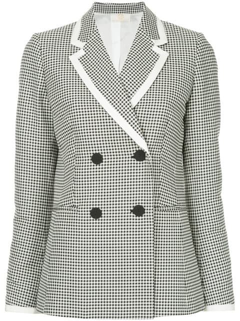 Sara Battaglia Double Breasted Jacket - Farfetch