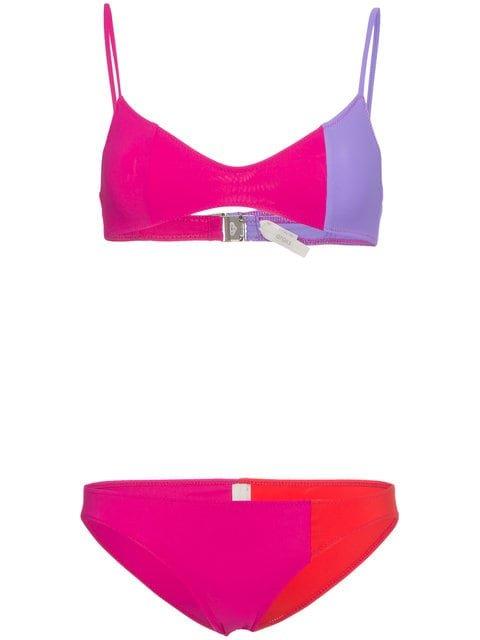 Araks Elsa Tricolour Bikini - Farfetch