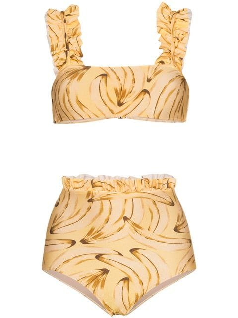 Adriana Degreas Muse Print Bikini - Farfetch