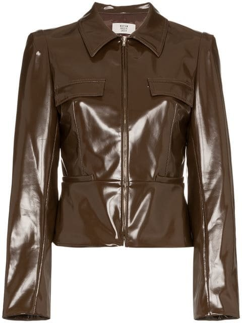 Maryam Nassir Zadeh Fitted Zip Jacket - Farfetch