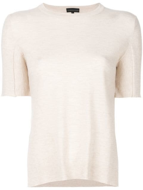 Cashmere In Love Sahar Shortsleeved Knitted Top - Farfetch