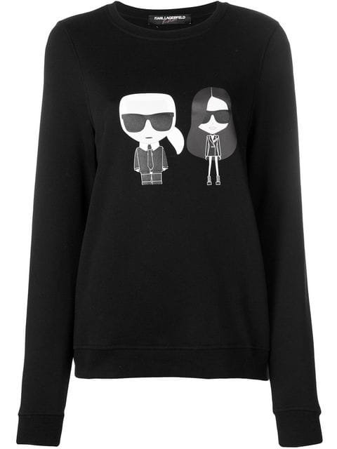 Karl Lagerfeld Karl X Kaia Ikonik Sweatshirt - Farfetch