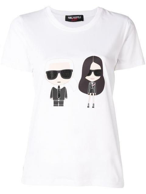 Karl Lagerfeld Karl X Kaia Ikonik T-Shirt - Farfetch