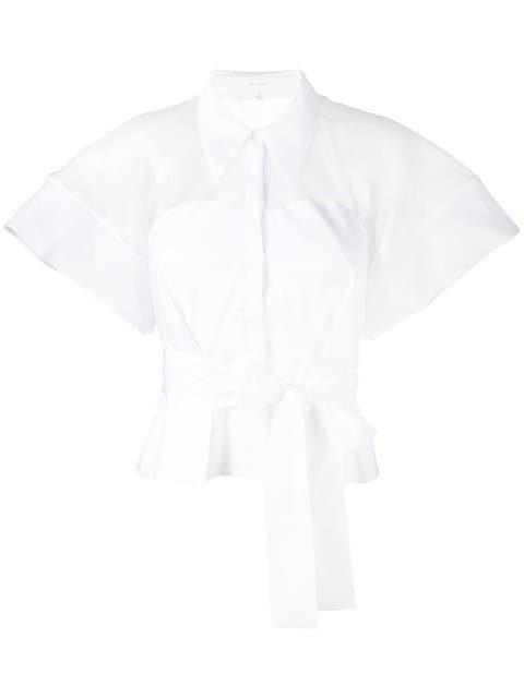Delpozo Belted Shirt - Farfetch