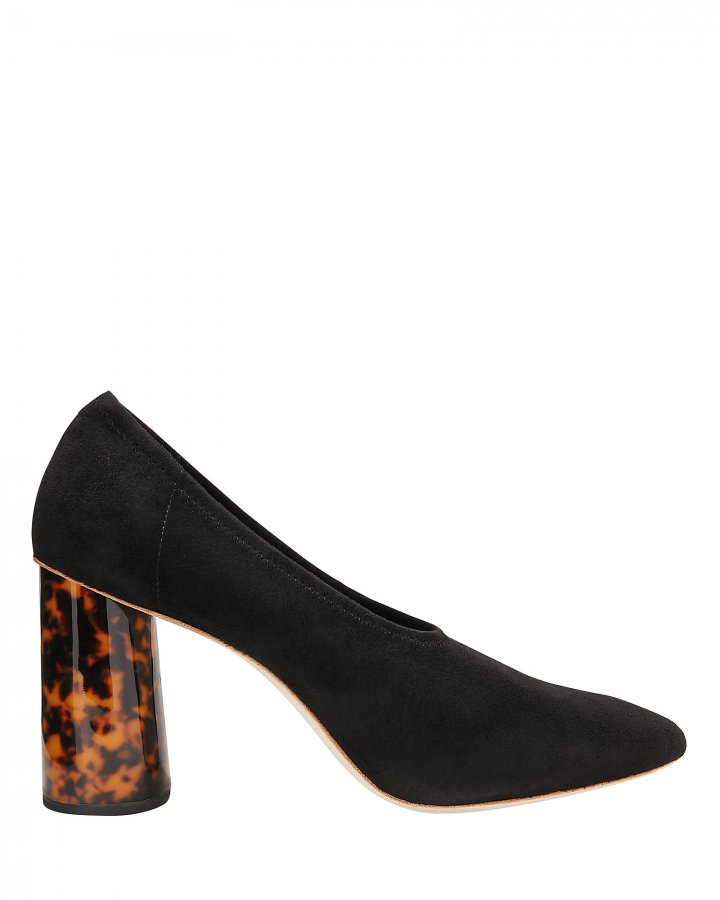 Elyn Tortoise Resin Heel Pumps
