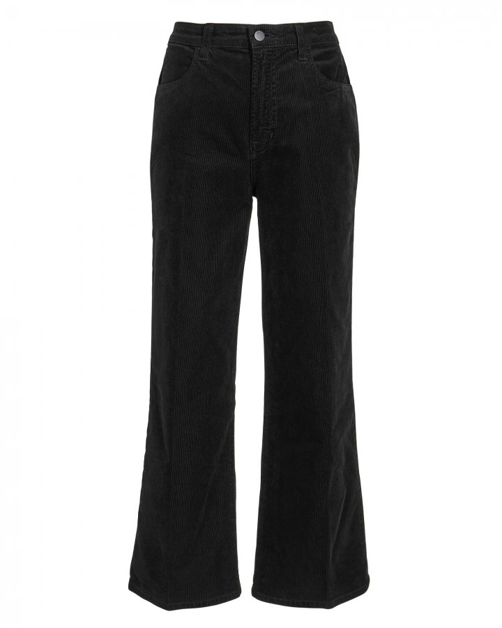 Joan Corduroy Cropped Pants