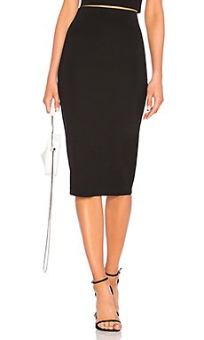Fitted Midi Skirt                                             LPA
