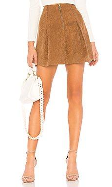 Kendall Corduroy Skirt                                             Tularosa