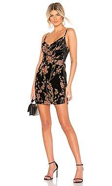 Lena Cowl Mini Dress                                             About Us