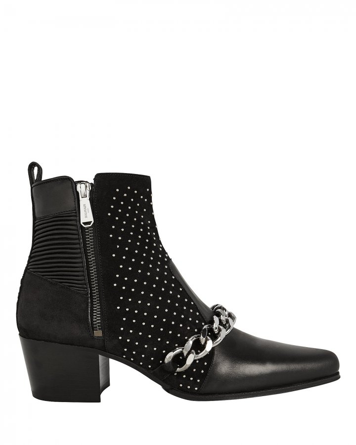 Ella Studded Booties