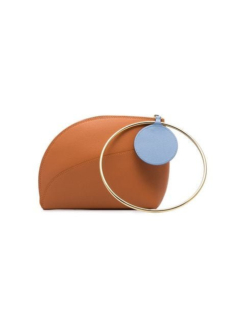 Roksanda Orange Eartha Small Bicolour Leather Bracelet Bag - Farfetch