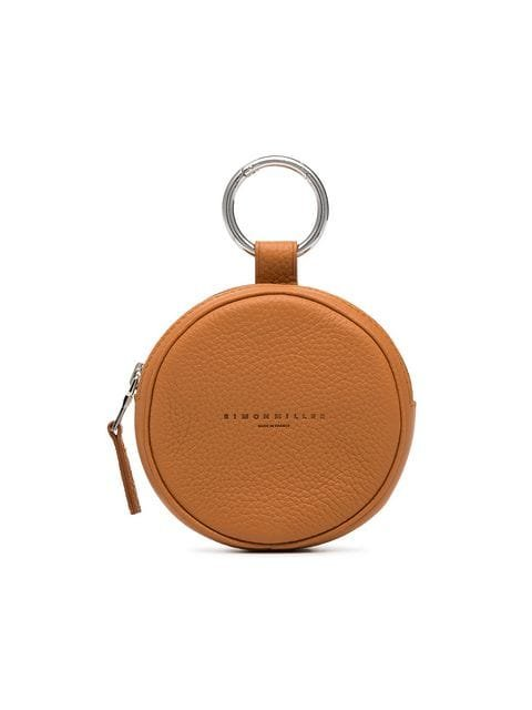 Simon Miller Camel Circle Pop Leather Pouch - Farfetch