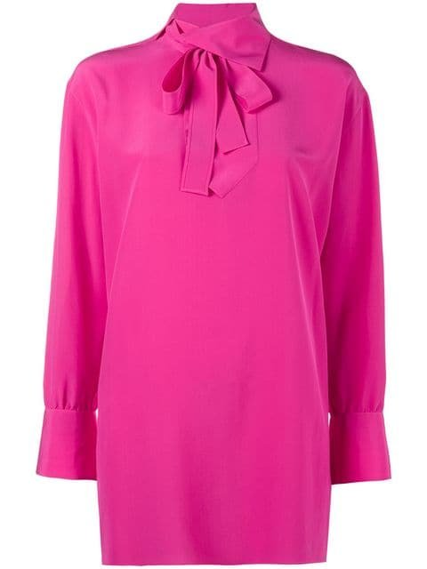 Valentino High Neck Blouse  - Farfetch