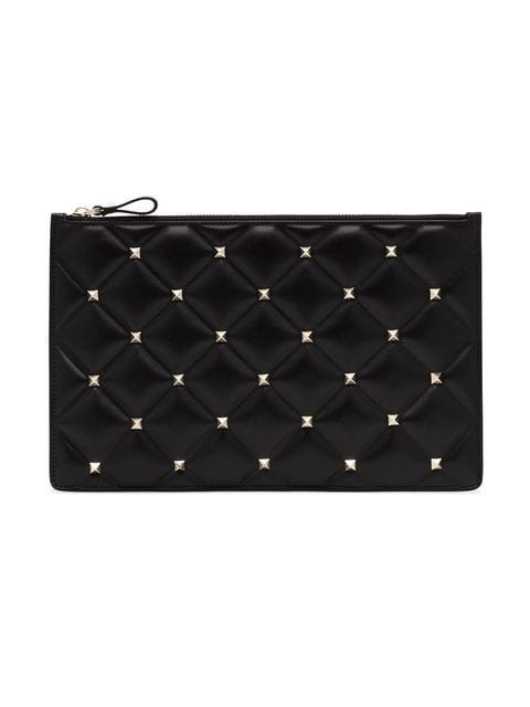 Valentino Rockstud Large Clutch  - Farfetch