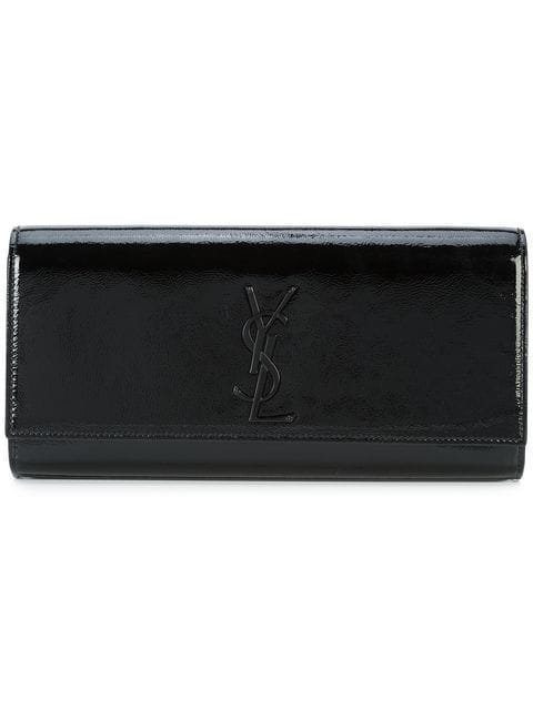 Saint Laurent Smoking Logo Clutch - Farfetch