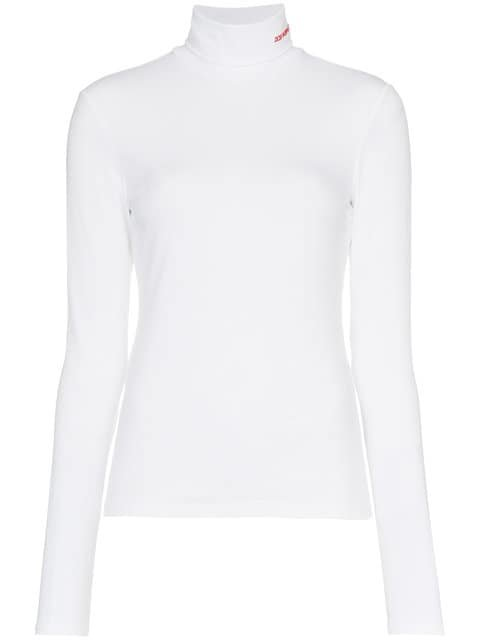 Calvin Klein 205W39nyc Logo Detail Turtleneck - Farfetch