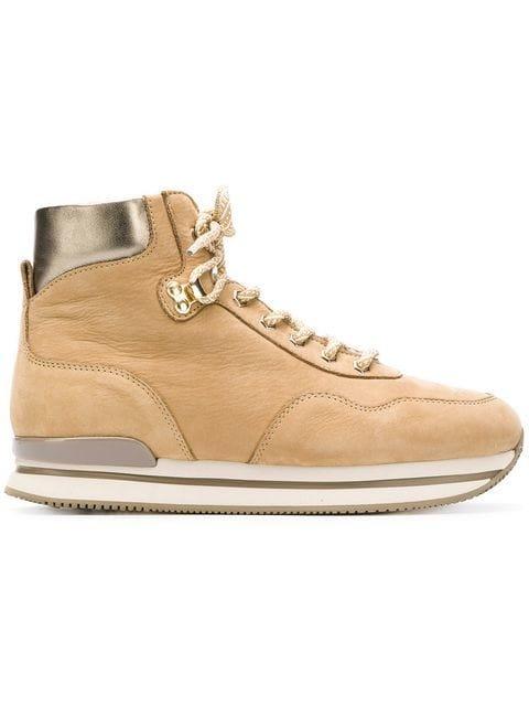 Hogan Ankle Lace Boots - Farfetch
