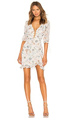 Elyse Flirty Mini Dress                                             For Love & Lemons
