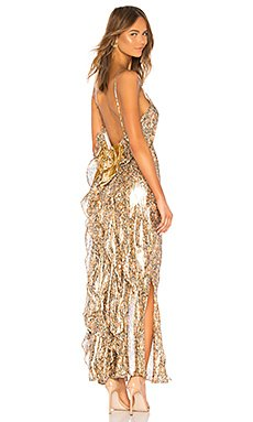 Kate Ruffle Slip Dress                                             LoveShackFancy