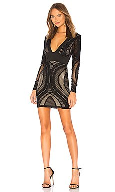 Cait Deep V Lace Dress                                             by the way.