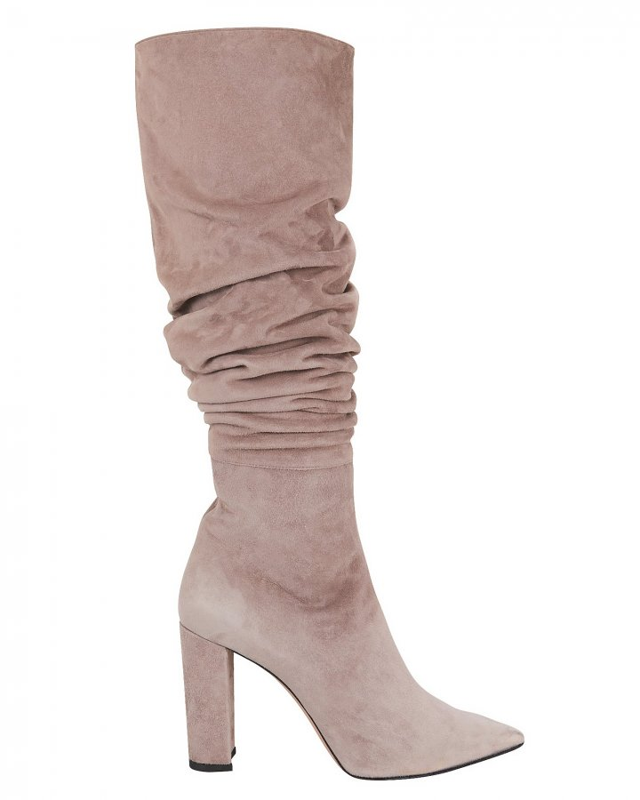 Kendal Slouchy Grey Boots