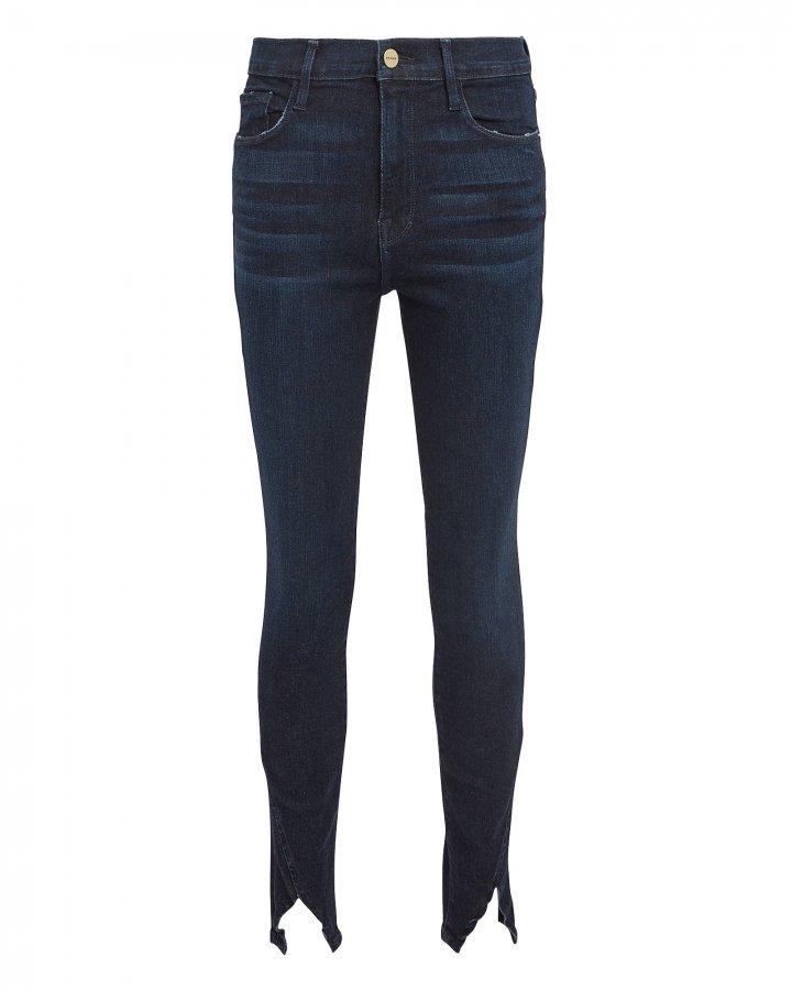 Ali High-Rise Split Cuff Jeans