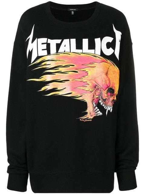 R13 Oversized Metallica Sweatshirt - Farfetch
