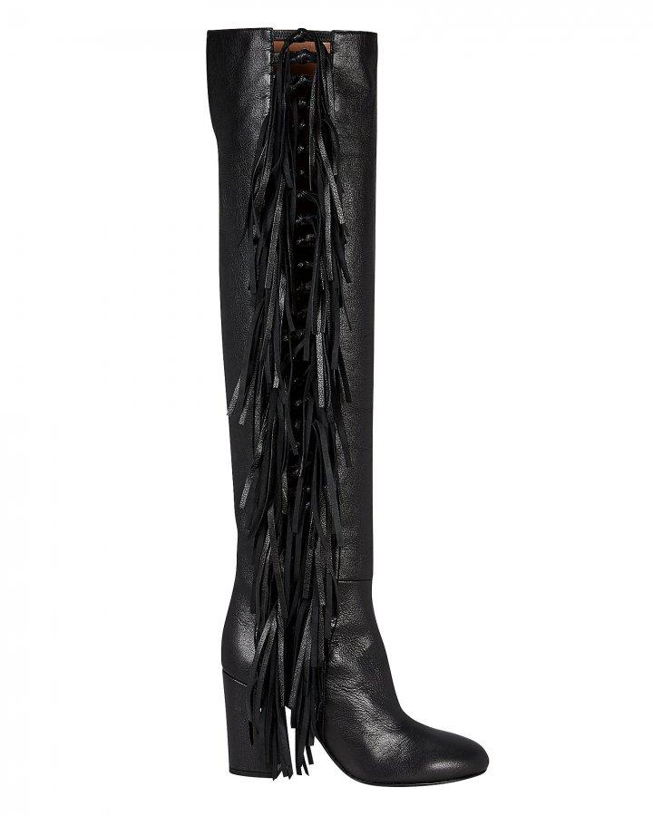 Sybille Fringe Boots
