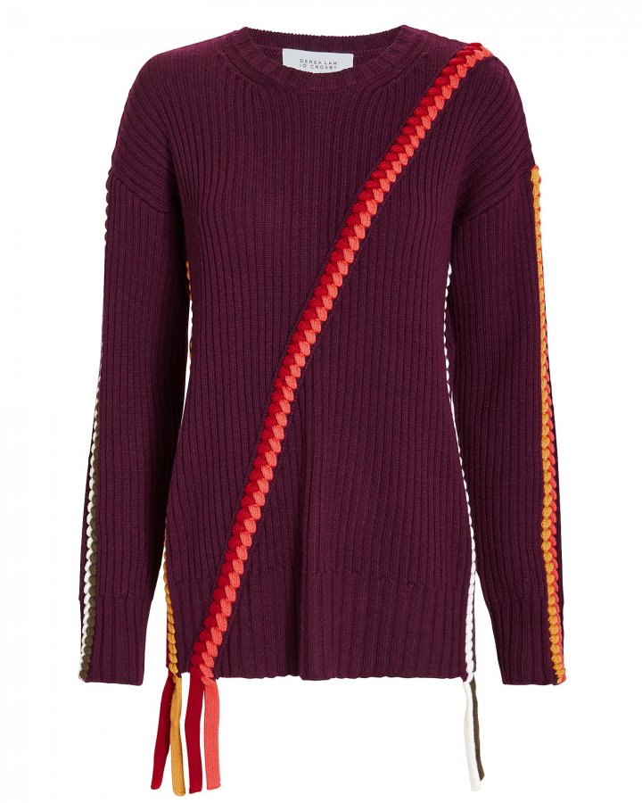 Braid Detail Sweater