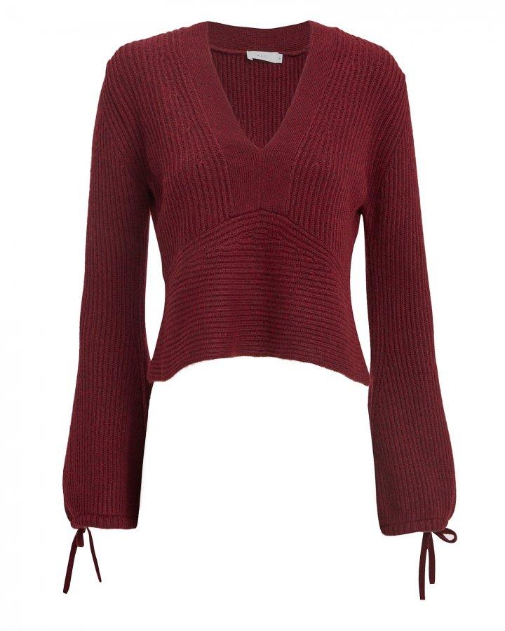 Schwartz Merlot Sweater