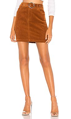 Jenny Belted Mini Skirt                                             About Us