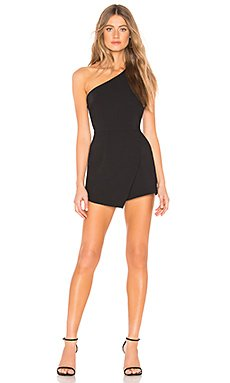 Alexa One Shoulder Romper                                             by the way.