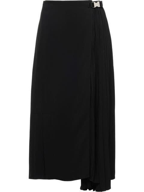 Prada Technical Broadcloth Skirt - Farfetch