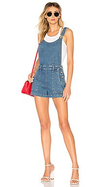 Side Button Shortall                                             7 For All Mankind