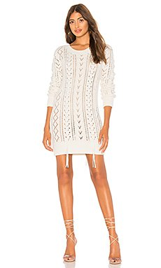 Lace Up Sweater Dress                                             Lovers + Friends