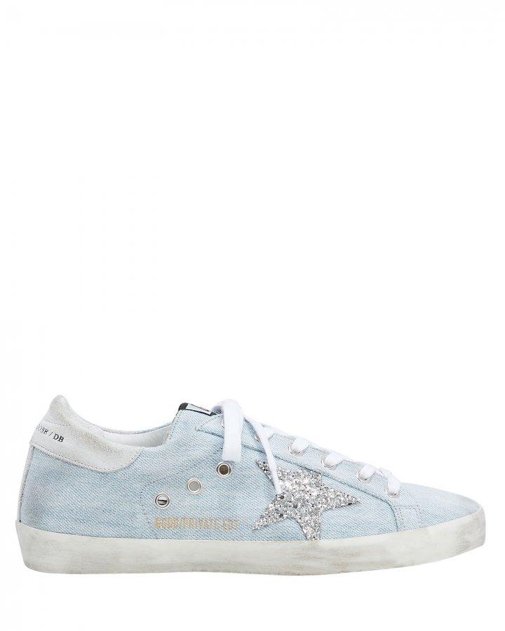 Superstar Denim Low-Top Sneakers