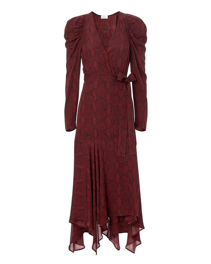 Tianna Snake Print Dress