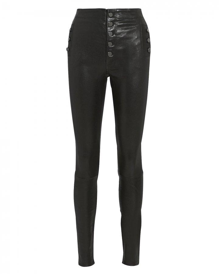 Natasha Skinny Leather Pants