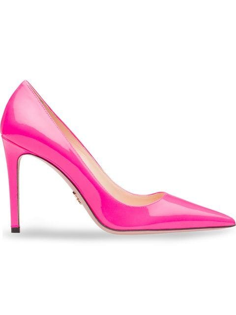 Prada Patent Leather Pumps - Farfetch