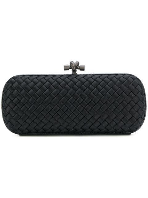 Bottega Veneta Nero Intrecciato Impero Stretch Knot  - Farfetch