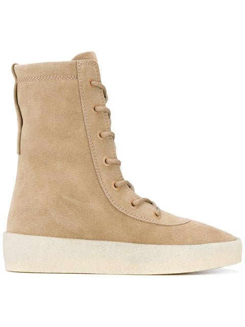 Yeezy Lace-up Boots  - Farfetch