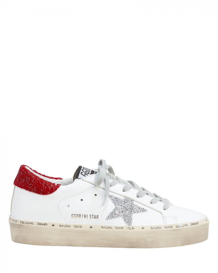Hi Star Swarovski-Embellished Low-Top Sneakers