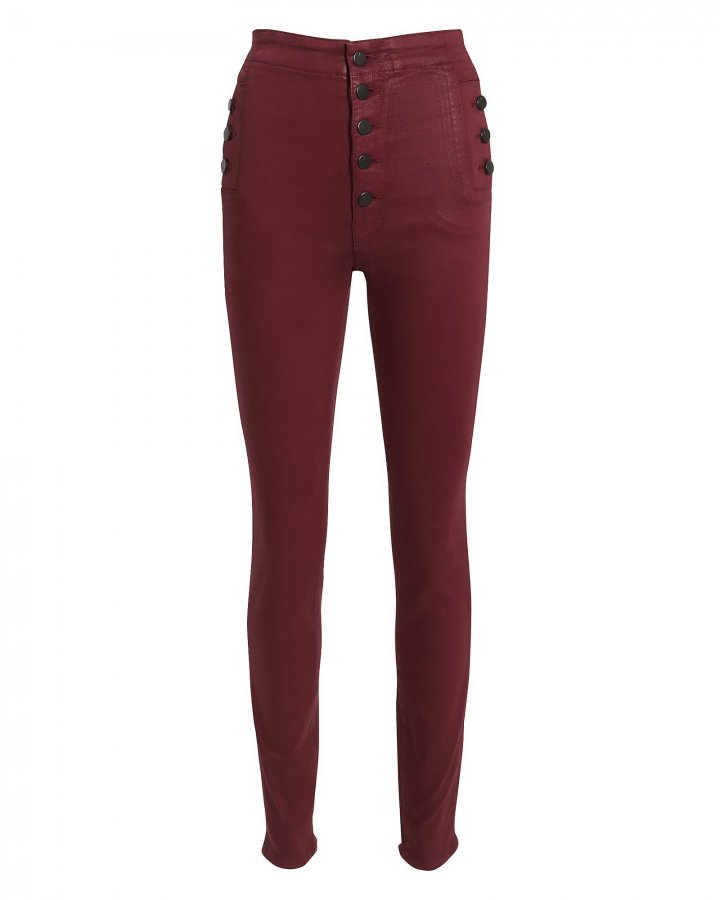 Natasha Coated Skinny Jeans