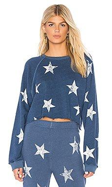 Star Raglan Sweatshirt                                             MONROW