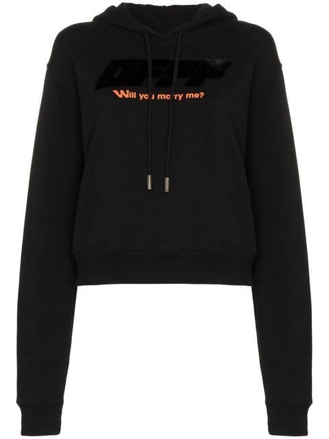 Off-White Will You Marry Me? Hoodie - Farfetch