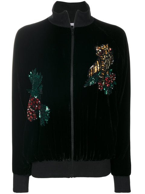 P.A.R.O.S.H. Embroidered Ricamo Jacket - Farfetch