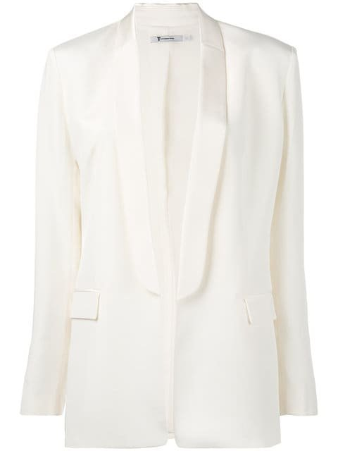 T By Alexander Wang Shawl Collar Blazer - Farfetch
