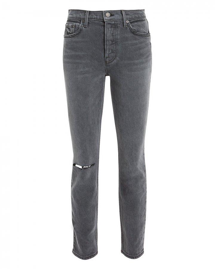 Karolina Ripped Skinny Jeans