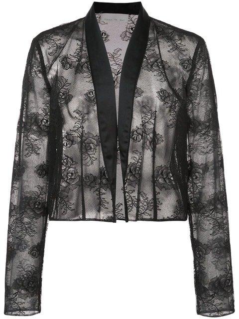 Fleur Du Mal Lace Jacket - Farfetch