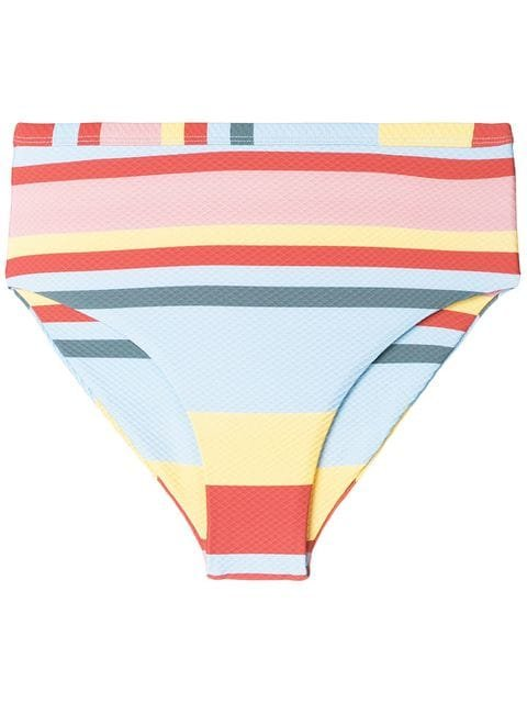 Asceno Striped Bikini Bottoms - Farfetch
